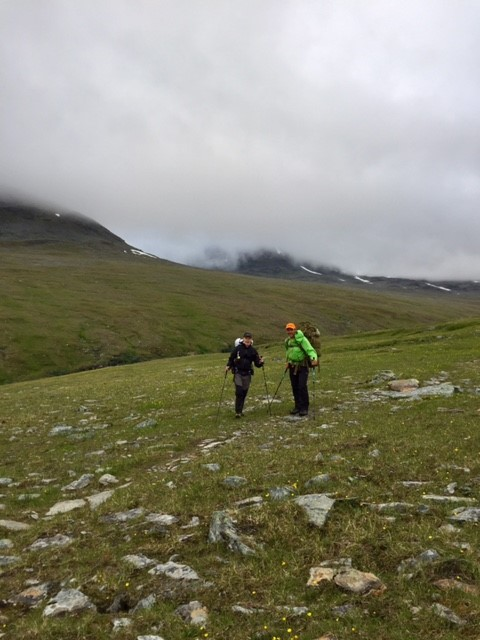 Peter (Gröna bandet) och Bård (Norge på Langs)